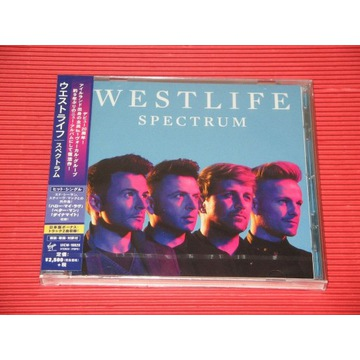 WESTLIFE Spectrum JAPAN CD + OBI 2 Bonus Tracks