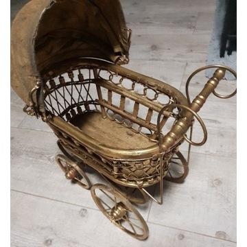 Wózki stare metalowo-drewniane
