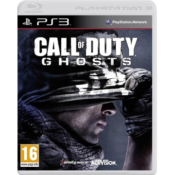 Call Of Duty Ghosts PL    Gra PS3 Playstation  PL
