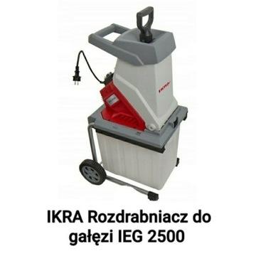 IKRA Rozdrabniacz do gałęzi IEG 2500 Raty 10 x 0%