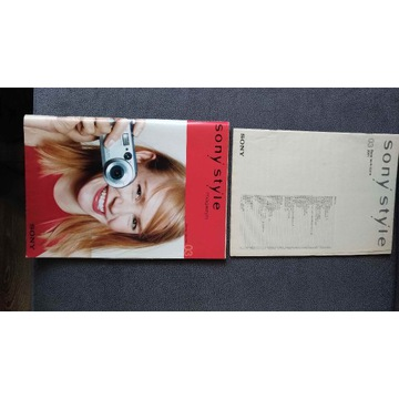 Katalog Sony 2001