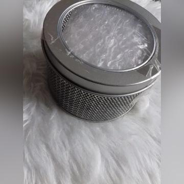 Pudełko puszka aluminium etui na zegarek