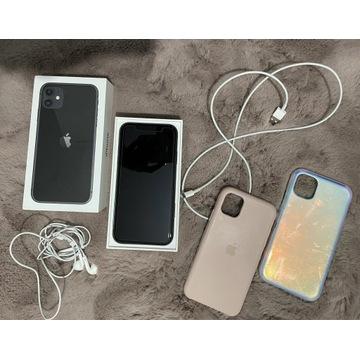 iPhone 11 Black 64GB, Stan idealny