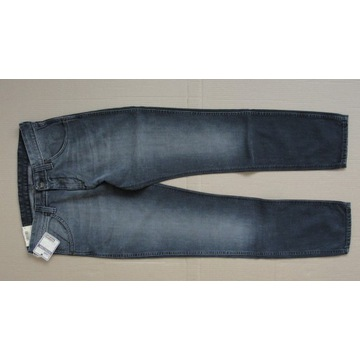 jeansy męskie WRANGLER ELVIS skinny rozmiar 34/34