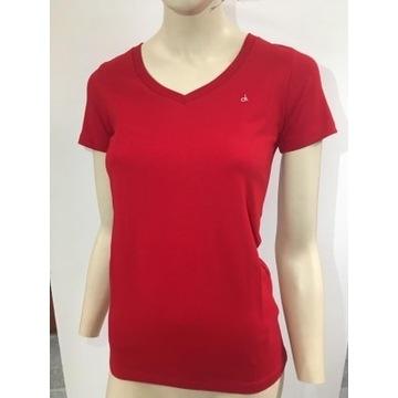Shirt Koszulka Damska Calvin Klein Jeans V-Neck