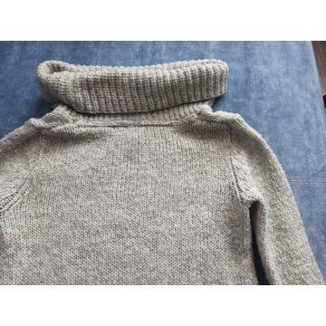 sweter szary damski
