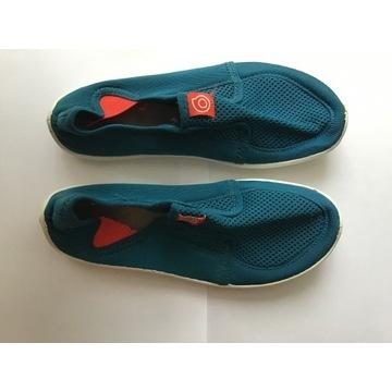 Buty na plażę kamienistą, żwirkową, na wodę, roz36