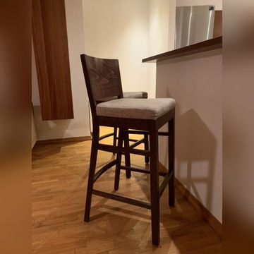 Krzesła barowe, 4 szt.