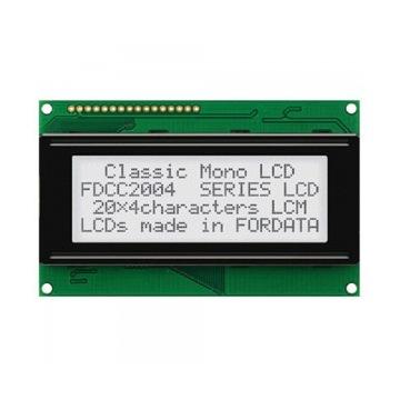 Wyświetlacz LCD 20x4 biały mały