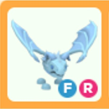 Roblox Adopt Me Frost Dragon FR