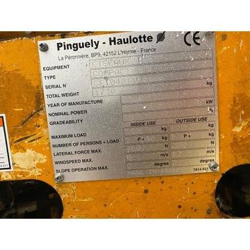 Podnośnik nożycowy, zwyżka Haulotte Compact 8 m