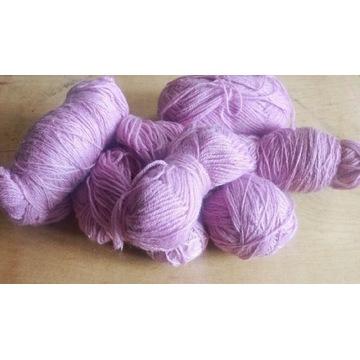 Włóczka fioletowa