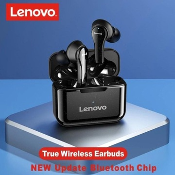 Bezprzewodowe słuchawki stereo Lenovo QT82 TWS IPX