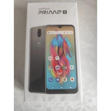 Smartfon myPhone Prime 5 czarny----NOWY !!!