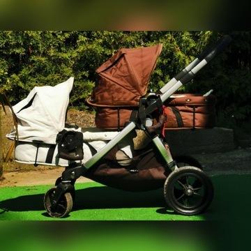 Wózek baby jogger city select double 3w1