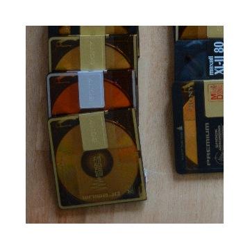 płyty minidisc md, głównie sony