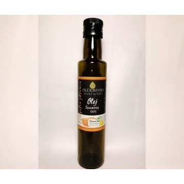 Olej sezamowy nierafinowany 250 ml
