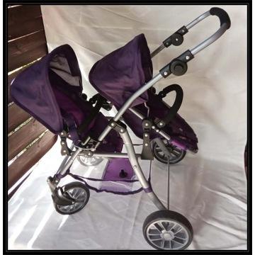 Bayer Chic 69125 Tandem Buggy Wózek dla lalek