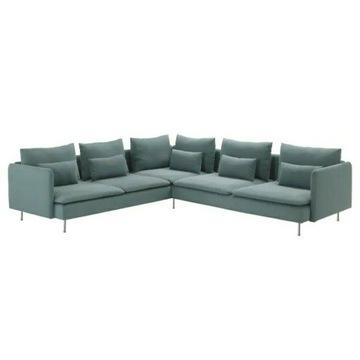 Ikea Söderhamn sofa narożna 6- osobowa