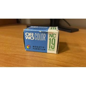 Negatyw kolor ORWO Color NC19 / exp 76 Unikat!