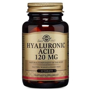 Kwas Hialuronowy - 30 mg - 120 tabletek SOLGAR