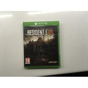 RESIDENT EVIL VII BIOHAZARD XBOX ONE PL ENG