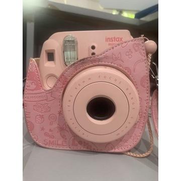 Fujifilm aparat instax mini 8 różowy polaroid anal