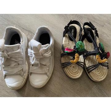 Zara sandały 34 Puma adidasy