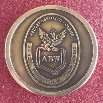 Medal Agencji Bezpieczeństwa Wewnętrznego 50 mm