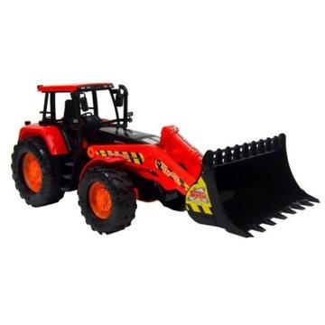 Ogromny traktor budowlany z ruchomą łyżką 56 cm