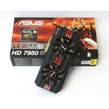 AMD ASUS HD 7950 3Gb (BCM) jak radeon r9 280