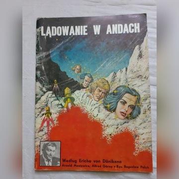 Lądowanie w Andach wydanie I