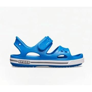 Crocs band II sandałki 13cm 20 21 niebieskie c5