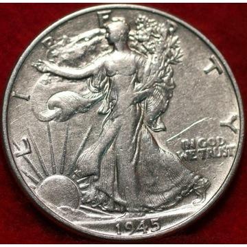 USA Half Dollar 1925 Walking Liberty - super stan