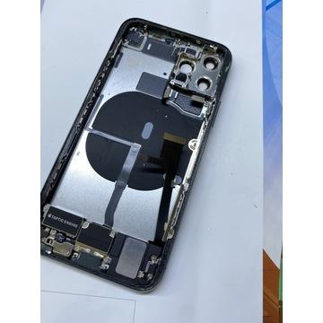 Korpus iPhone 11 Pro Zielony z taśmami Oryginalny