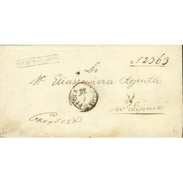 Królestwo Polskie - Płock - 1859 r. - Interes