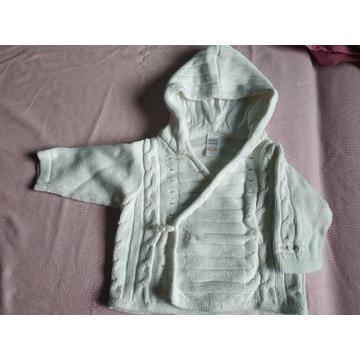 Sweterek biały Next baby r. 62