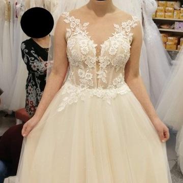 """Śliczna suknia ślubna - model """"Omena"""""""