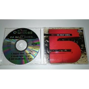Red 5 - Da beat goes - singiel