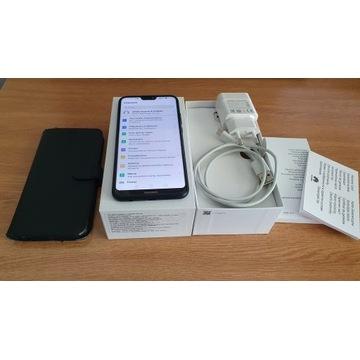 Huawei P20 Lite Dual Sim Czarny Igła + Etui Spigen