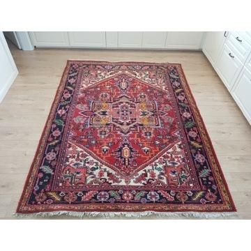 Piękny orientalny ręcznie tkany dywan Vintage