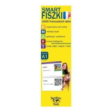 Smart FISZKI 1000 francuskich słów Poziom A1