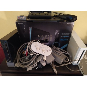 Konsole Wii Komplet