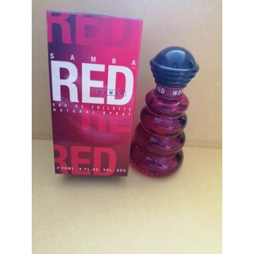 Samba Red edt 25 ml Women Unikat!