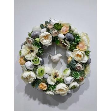 Wianek wiosenno- wielkanocny Wielkanoc 2021