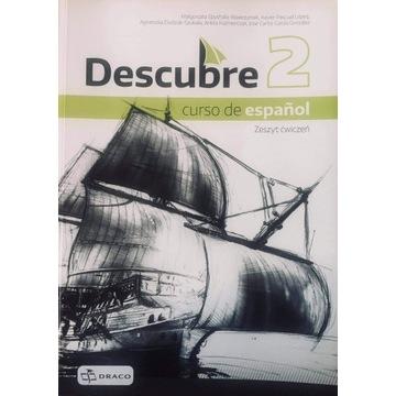 Descubre2 podręcznik+ćwiczenia j.hiszpański