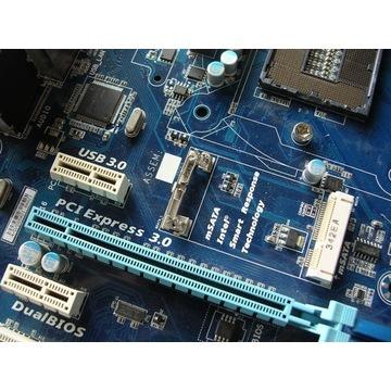 Płyta Gigabyte GA-H77-D3H Socket 1155 mSATA