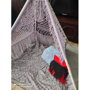 Makrama namiot tipi