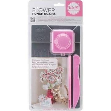 Flower Punch Board - Tablica do wycinania kwiatów