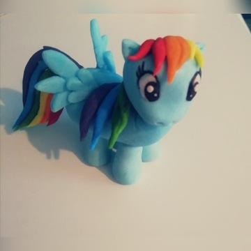 Kucyk Pony z masy cukrowej.tort. My Little Pony